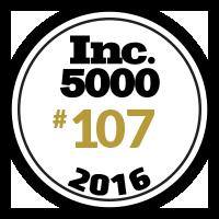 Inc. 5000 Rank 107