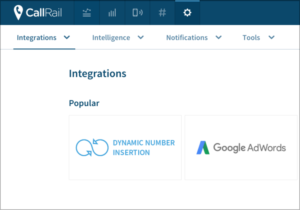 Dynamic Number Insertion for call tracking