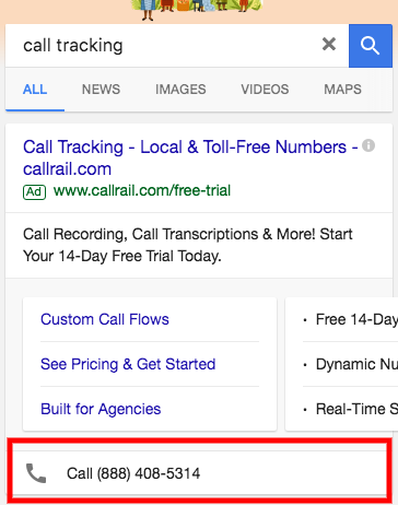 adwords click-to-call