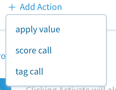 Tagging and scoring phone calls for leads