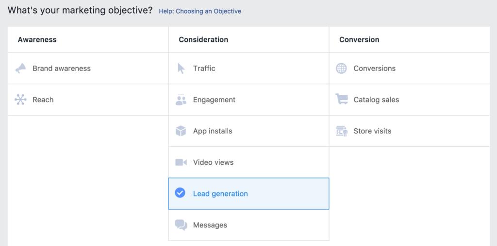 A look at Facebook Ads platform.