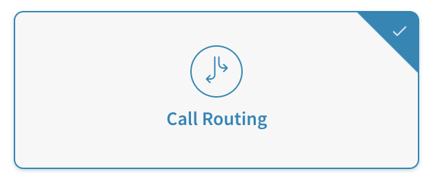 Call Routing for Call tracking