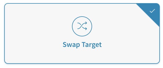 DNI for swapping targets