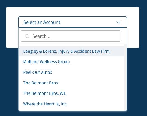 Screenshot of CallRail Account Management