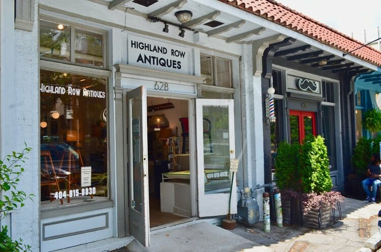 Highland Row Antiques in Atlanta