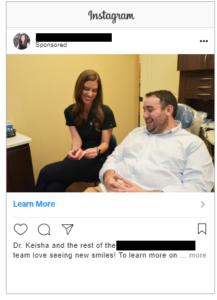 Social ads on Instagram